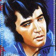 Stamp show singer Elvis Presley — Stock Photo #2408983