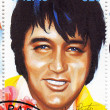 Stamp show singer Elvis Presley — Stock Photo #2409118