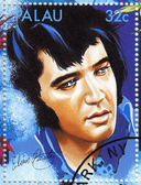 Stamp show singer Elvis Presley — Stock Photo