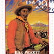 Stamp  show Bill Pickett - Stock Photo