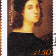 Stamp showing Raphael — Stock Photo
