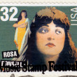 Stamp show singer Rosa Ponselle — Stock Photo