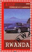 Stamp shows Porshe 911 — Stock Photo