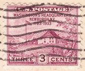 Stamp Washingtons Headquarters Newburgh — Stock Photo