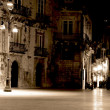 Syracuse, Sicily night street — Stock Photo #2453023