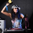 Cool DJ in action — Stock Photo #2470406