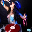 cool dj en action — Photo