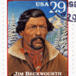 Royalty-Free Stock Photo: Stamp  show  Jim Beckwourth