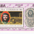 Stock Photo: stamp with ernesto che guevara