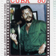 Stock Photo: Stamp with Che Guevara