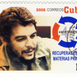 Stamp with Ernesto Che Guevara — Stock Photo #2502177