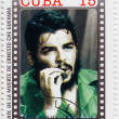 Stamp with Che Guevara — Stock Photo