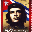 Stamp with Ernesto Che Guevara — Stock Photo