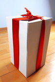 Gift in your house for holidays — Stock Photo