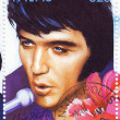 Stamp with Elvis Presley — Stock Photo #2511924