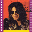 Stock Photo: Stamp shows Michael Jackson