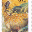 Stamp shows Dino — Stock Photo