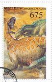 Stamp shows Dino — Stock Photo