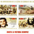 Cuba stamp with Ernesto Che Guevara — Stock Photo #2528131