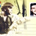 Cuba stamp with Ernesto Che Guevara — Stock Photo