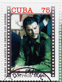 Stamp with Che Guevara — Stock fotografie