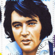 Stamp with Elvis Presley — Stock Photo #2532580