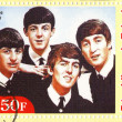 Stamp with Beatles — Stock Photo