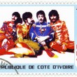 Постер, плакат: Stamp with Beatles