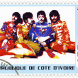 Stamp with Beatles — Stock Photo #2535104