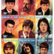 Stock Photo: Stamp with Beatles