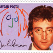 Stamp  with John Lennon — Stock Photo