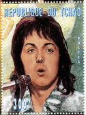 Stamp with Paul McCartney — Stock Photo