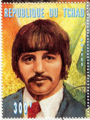Stamp with Ringo Starr from The Beatles — Stock Photo