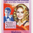 Royalty-Free Stock Photo: Stamp with Madonna