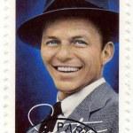 Постер, плакат: Stamp show Frank Sinatra