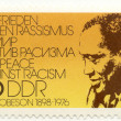Stock Photo: Stamp with singer Paul Robeson