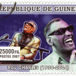 Stamp  show  Ray Charles - Foto de Stock  