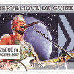 Постер, плакат: Famous singer Sting