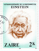 Stamp show Albert Einstein — Stock Photo