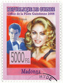 Stamp with Madonna — Stock Photo