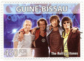 Stamp with The Rolling Stones — Stock Photo