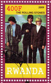 Stamp show Rolling Stones — Stock Photo