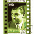 Cambodia stamp with Clark Gable — Stock Photo