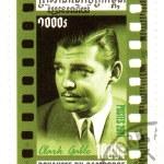 Постер, плакат: Cambodia stamp with Clark Gable