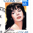 Stamp american actresses Natalie Wood — Stock Photo #2625224