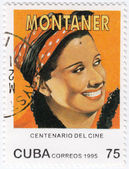 Rita Montaner - Cuban singer, — Stock Photo