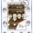 Stamp with famous group of Beatles — Stock Photo #2654556