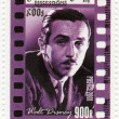 Stock Photo: Stamp with Walt Disney