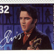 Stamp with Elvis Presley — Stock Photo