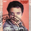 Stamp with Elvis Presley — Stock Photo #2656165